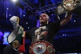 Усик очолив рейтинг найкращих боксерів у суперважкій вазі за версією BoxRec