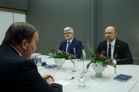 Шмигаль обговорив з прем'єром Швеції енергетику та екологію