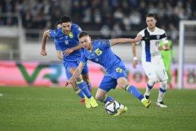 Україна здобула у Фінляндії першу перемогу у відборі на ЧС-2022