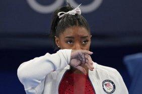American gymnast praised for 'prioritising mental wellness'