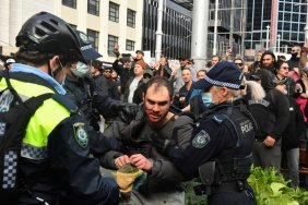 Arrests at anti-lockdown protests