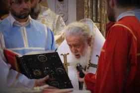 Католикос-Патриарх Грузии выразил соболезнования семье погибшего оператора TV Pirveli