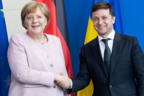 Президент Украины наградил Меркель орденом Свободы за помощь в борьбе с РФ