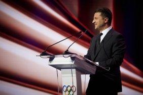 Зеленский предлагает миру следующие Олимпийские  игры провести в Украине