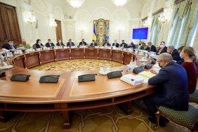 Нові санкції, витрати на оборону та реєстр олігархів: підсумки засідання РНБО