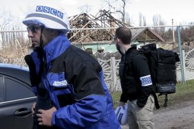 Occupation authorities in Donetsk weaken the blockade of the OSCE mission