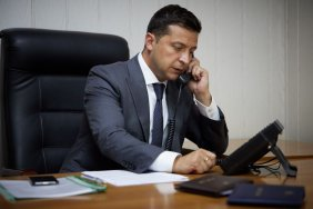 Volodymyr Zelensky had a telephone conversation with the Prime Minister of Israel