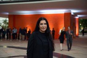 Artist Maryna Abramovich presented her installation «Crystal Wailing Wall» in Babyn Yar