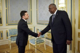 The President of Ukraine met with the head of the Pentagon