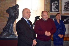 Посол Грузии в Украине Георгий Закарашвили посетил Музей-мастерскую Ивана Кавалеридзе