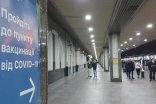 Ukrzaliznytsia deployed points of vaccination and rapid testing at railway stations