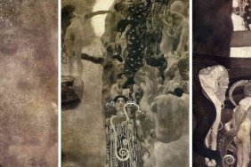 Three lost paintings by Klimt were recreated by artificial intelligence